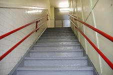 Free Stairway In School Royalty Free Stock Photos - 14063208