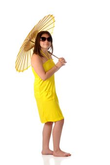 Free Sunshine Girl Royalty Free Stock Photo - 14063565