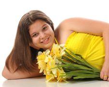 Free Daffodil Beauty Stock Photos - 14063573