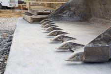 Free Scoop On Concrete Slab Stock Photo - 14063590