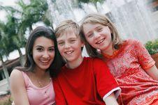 Free Three Teenagers Stock Photos - 14063603