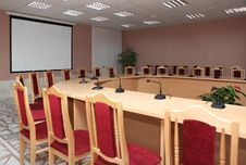 Free Conference Negotiations. Stock Photography - 14063902