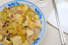 Free Chinese Style Vegetarian Delicacy Royalty Free Stock Image - 14064416