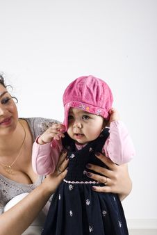 Mother With Toddler Girl Royalty Free Stock Images