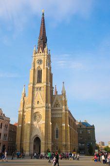 Free Novi Sad Cathedral Royalty Free Stock Image - 14064716