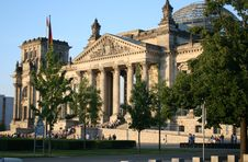 Free Reichstag Of Berlin, Germany Royalty Free Stock Image - 14067466