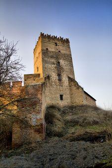 Free Castle Lutsk Royalty Free Stock Images - 14067589
