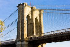 Free Brooklyn Bridge Stock Image - 14068571