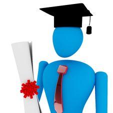 Free Graduated Student Royalty Free Stock Photo - 14068735