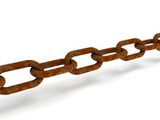 Free Rusty Chain Royalty Free Stock Photo - 14069755