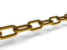 Free Golden Chain Stock Image - 14069761