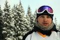 Free Man Portrait With Ski Goggles Royalty Free Stock Photo - 14070025