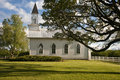 Free Old White Rural Church Stock Photography - 14073542