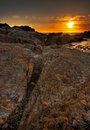 Free Sunset At Point Lobos Royalty Free Stock Images - 14075969