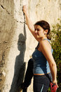 Free Climbing Woman Stock Images - 14077754