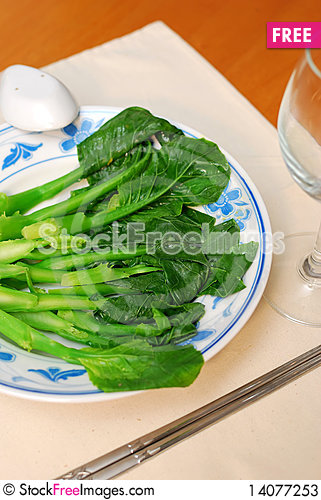 Free Chinese Style Healthy Vegetables Stock Photos - 14077253