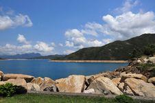 Free High Island Reservoir Royalty Free Stock Image - 14070516