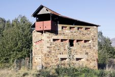 Anglo-Boer War Block House Royalty Free Stock Photo