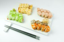 Free Sushi Royalty Free Stock Photography - 14070767