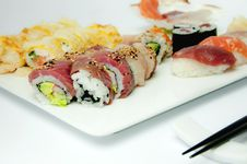 Free Sushi Royalty Free Stock Photos - 14070918