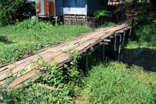 Free Old Wooden Bridge Stock Photos - 14071313