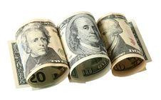 The Dollar Banknotes Stock Photos