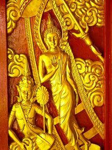 Free Golden Buddha Stock Images - 14071664
