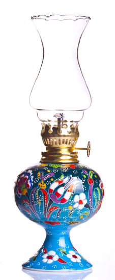 Free Old Fashioned Oil Lamp Royalty Free Stock Photo - 14071875