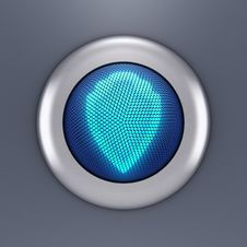 Free Protection Button Concept Stock Images - 14071964