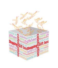 Free Surprise Box Royalty Free Stock Photos - 14072128