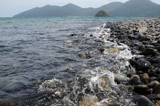 Free Stone Beach Stock Photography - 14073782