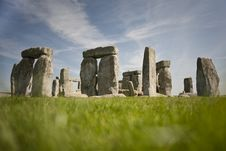 Free Stonehenge On A Sunny Day Stock Photo - 14074180