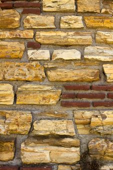 Free Multi-Stone Background Texture Royalty Free Stock Image - 14074206