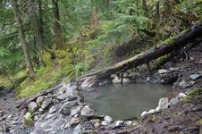 Free Hot Springs In The Nature Stock Image - 14075051