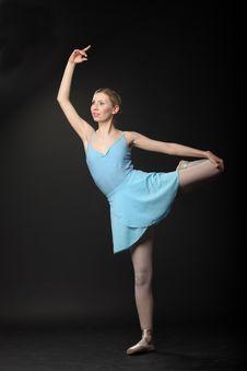 Free Dancing Ballerina Stock Images - 14075154