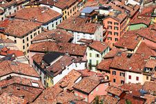 Mediterrian Roofs Royalty Free Stock Images