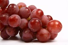 Free Red Grapes Royalty Free Stock Photo - 14075365