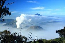 Bromo Mountain Malang Indonesia Stock Photos