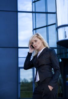 Free Beautiful Business Woman Royalty Free Stock Photos - 14075798