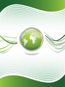 Abstract Design With Globe Stock Photography