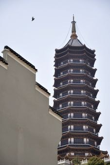 Free Chinese Tower Stock Photos - 14076343