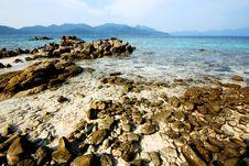 Free Stone Beach In Thailand Stock Photo - 14076600