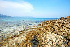 Free Stone Beach Thailand Stock Photos - 14076603