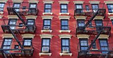 New York Red & Withe Front