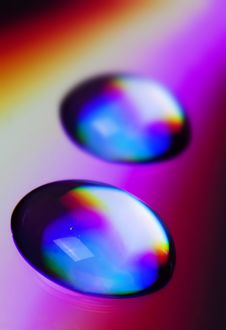 Free Drops Of Water Royalty Free Stock Photos - 14076918