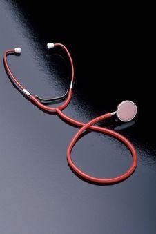 Free Red Stethoscope Stock Photo - 14076950