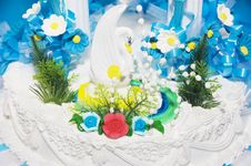 Free Wedding Cake Royalty Free Stock Image - 14077166