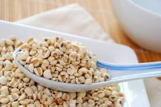 Free Dried Barley Seeds As Food Ingredients Stock Images - 14077264