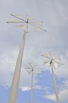 Free Wind Mill Royalty Free Stock Photo - 14078265