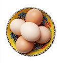 Free Kitchen Egg On A Turkish Glass Stock Photography - 14082702